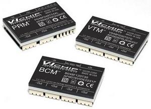 Подпись:Семейство VI Chip: модули BCM, PRM, VTM